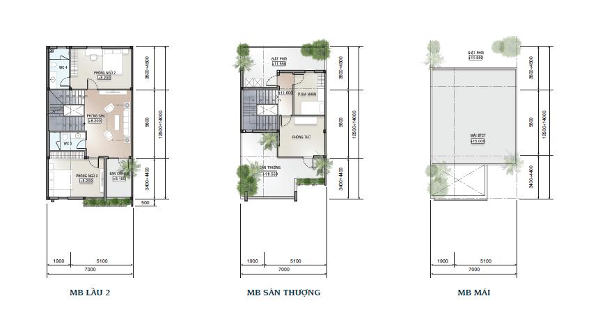 mẫu nhà dự án saigon mystery villas