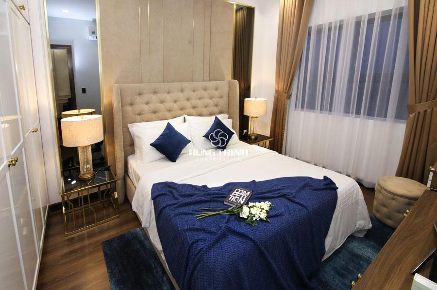 phòng ngủ master căn hộ q7 sai gon riverside complex