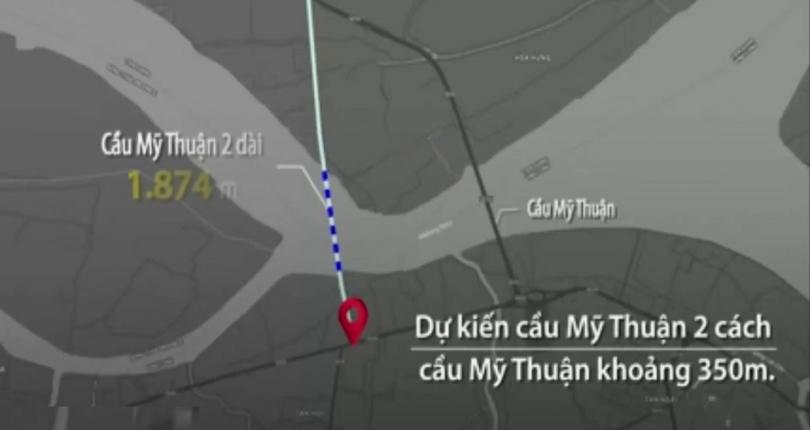 Cầu Mỹ Thuận 2 Nối Vĩnh Long – Tiền Giang